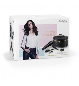 BaByliss 5737FGU Style Collection Hair Dryer Gift Set 2200W With Cool Shot