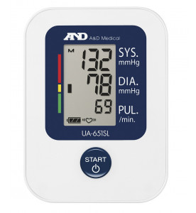 A&D Medical UA-651SL Upper Arm Blood Pressure Monitor