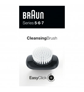 Braun EasyClick Cleansing Brush Attachment for Series 5, 6 and 7 Electric Shaver