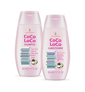Lee Stafford lsgs24 Coco Loco Jetset 1700w Hairdryer Kit - Pink.