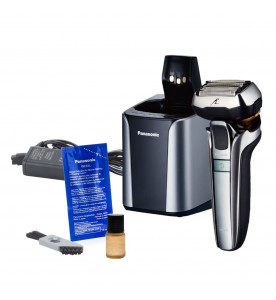 Panasonic ES-LV9Q Five Blade Wet and Dry Shaver with Charging Stand