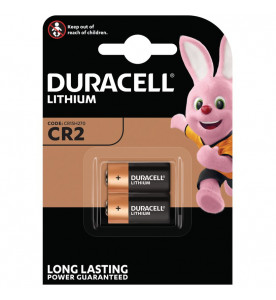 Duracell Lithium CR2 Twin Batteries (Card of 2)
