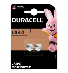 Duracell Batteries LR44 (Card of 2)