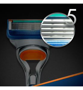 Gillette Fusion Manual Blades 4s (Box of 10 cards)