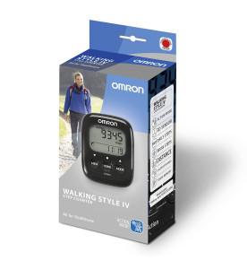 Omron Walking Style IV Pedometer (Black)