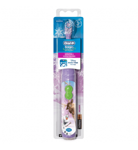 Oral-B Stages Power Kid's Disney Frozen Battery Toothbrush With Timer App