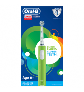 Oral-B Junior Rechargeable Green Toothbrush Age 6 plus