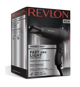 Revlon Perfect Heat Fast and Light Hair Dryer