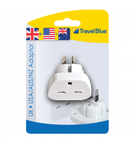 Travel Blue American Travel Plug (Non Earthed Adaptor)
