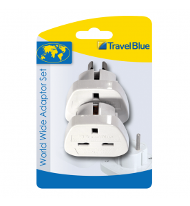 Travel Blue Worldwide Travel Plug (Non Earthed Adaptor)