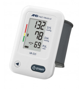 A&D UB-525 Automatic Wrist Blood Pressure Monitor