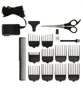 Wahl Mains and Rechargeable Clipper Titanium