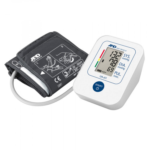 AND Medical Upper Arm Blood Pressure Monitor UA611