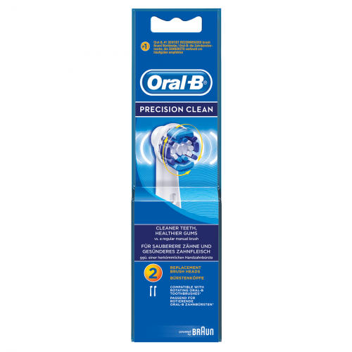 Oral-B Precision Clean Brush Heads (Pack of 2)