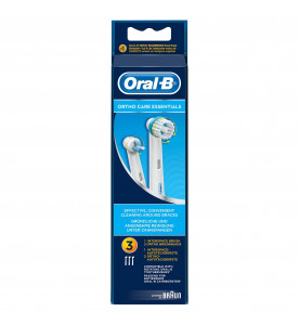 Oral-B Ortho Care Essentials Toothbrush Heads