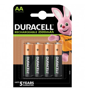 Duracell StayCharged Rechargeable AA 4s Batteries