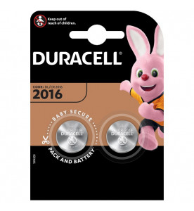 Duracell Lithium Coin Batteries 2016 (Card of 2)