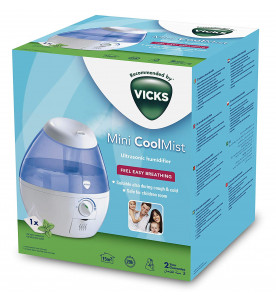 VICKS VUL520E1 Mini Cool Mist Ultrasonic Humidifier