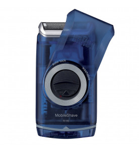 Braun Pocket Go Shaver Blue