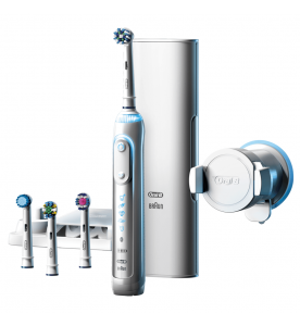 Oral-B Genius Pro 9000 White Electric Rechargeable Toothbrush