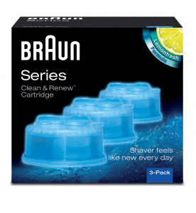 Braun Clean & Charge Shaver Refills Pack (Pack of 3)