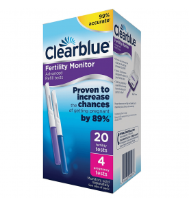 Clearblue Fertility Monitor Sticks (20ct OT + 4ct Preg)