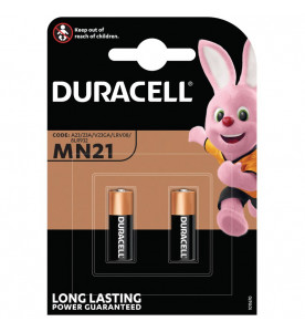 Duracell 12V Twin Security Batteries Alkaline (Card of 2)
