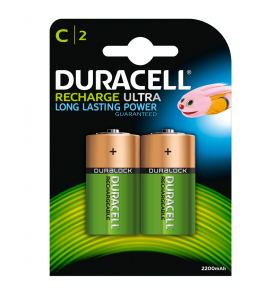 Duracell Rechargeable C NiMH 2s Batteries