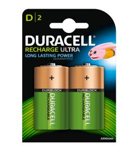 Duracell Rechargeable D NiMH 2s Batteries