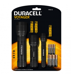 Duracell Voyager 3 Pack Torches