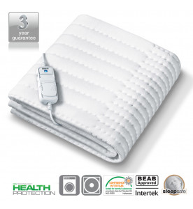 Monogram Allergy-Friendly Heated Mattress Top Single (369.60)