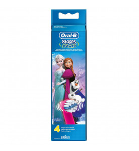 Oral-B Stages Power Kids Frozen Brush Heads (Pack of 4)