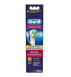 Oral-B Floss Action Brush Head (Pack of 4)