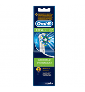 Oral-B Cross Action Brush Heads (Pack of 2)