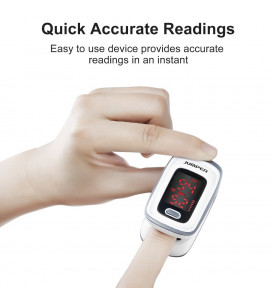 Jumper Medical JPD-500E LED Fingertip Pulse Oximeter for Oxygen Level & Pulse Rate