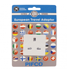 European Adaptor ES0014 UK to Europe