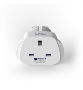 Travel Blue European Travel Plug (Non Earthed Adaptor)