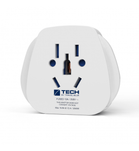 Travel Blue British Travel Plug Adaptor (Non Earthed Adaptor)
