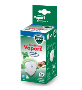 Vicks Comforting Vapors Essential Oils Plug-In Vaporiser