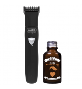 Wahl Gift Set Rechargeable Trimmer & Beard Oil